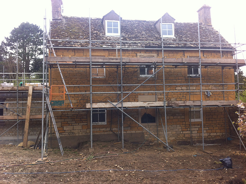 Cotswold Stone Cleaning – Cotswold Stone House After Cleaning