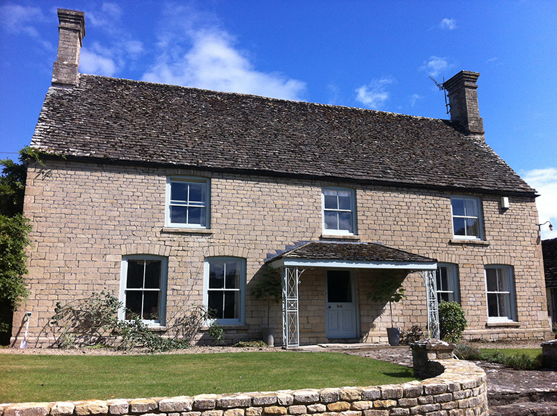 Cotswold Stone Cleaning – Cotswold Farmhouse After Cleaning and Repointing