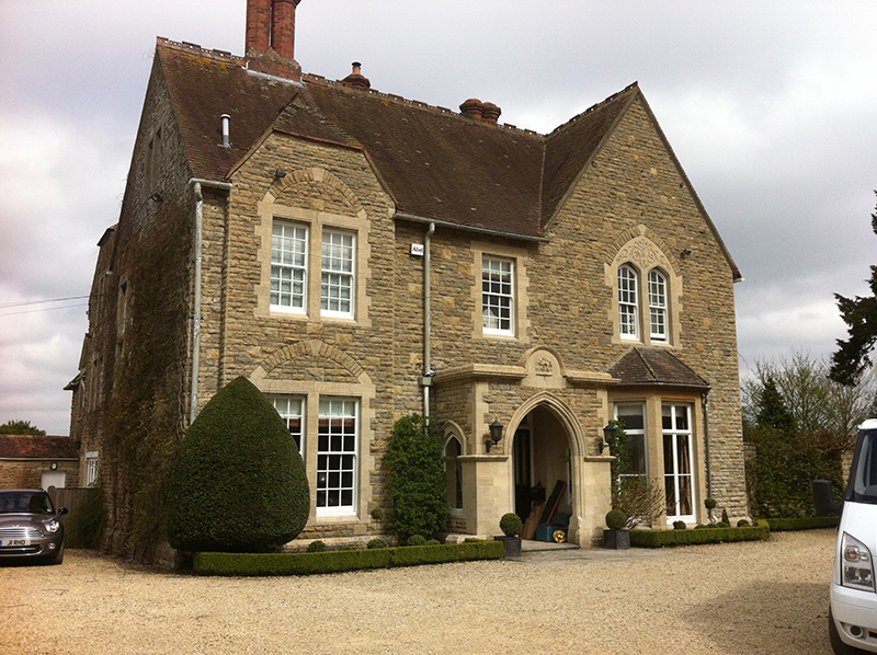 Cotswold Stone Cleaning – Manor House Near Malmesbury Wiltshire After Cleaning